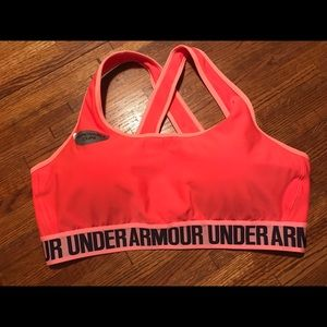 Women's XL pink sports bra